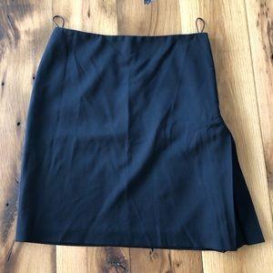 Jean Paul Gaultier Black pencil Skirt Zip Detail